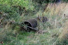 Abandoned-farm-soil-roller