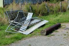 Farm-railings-and-telegraph-pole