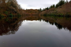 The water was so still and the brown colours stunning