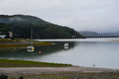 Fairbourne on a dull, still day.