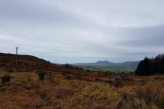 Looking over to the sea, probably Porthmadog
