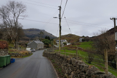 This is the small village of Rhyd, Wales