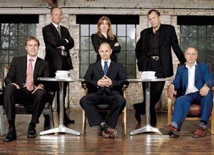 Picture of the Dragons on Dragons Den 1st series